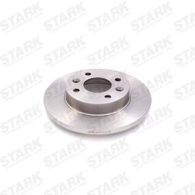 SKBD-0022809 STARK Vorderachse, Voll, ohne Radnabe, ohne Radbefestigungsbolzen Ø: 238mm, Bremsscheibendicke: 12mm Bremsscheibe SKBD-0022809 günstig kaufen