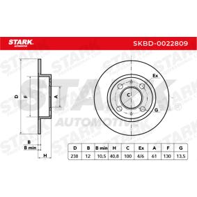 SKBD-0022809 Bremsscheibe STARK Erfahrung