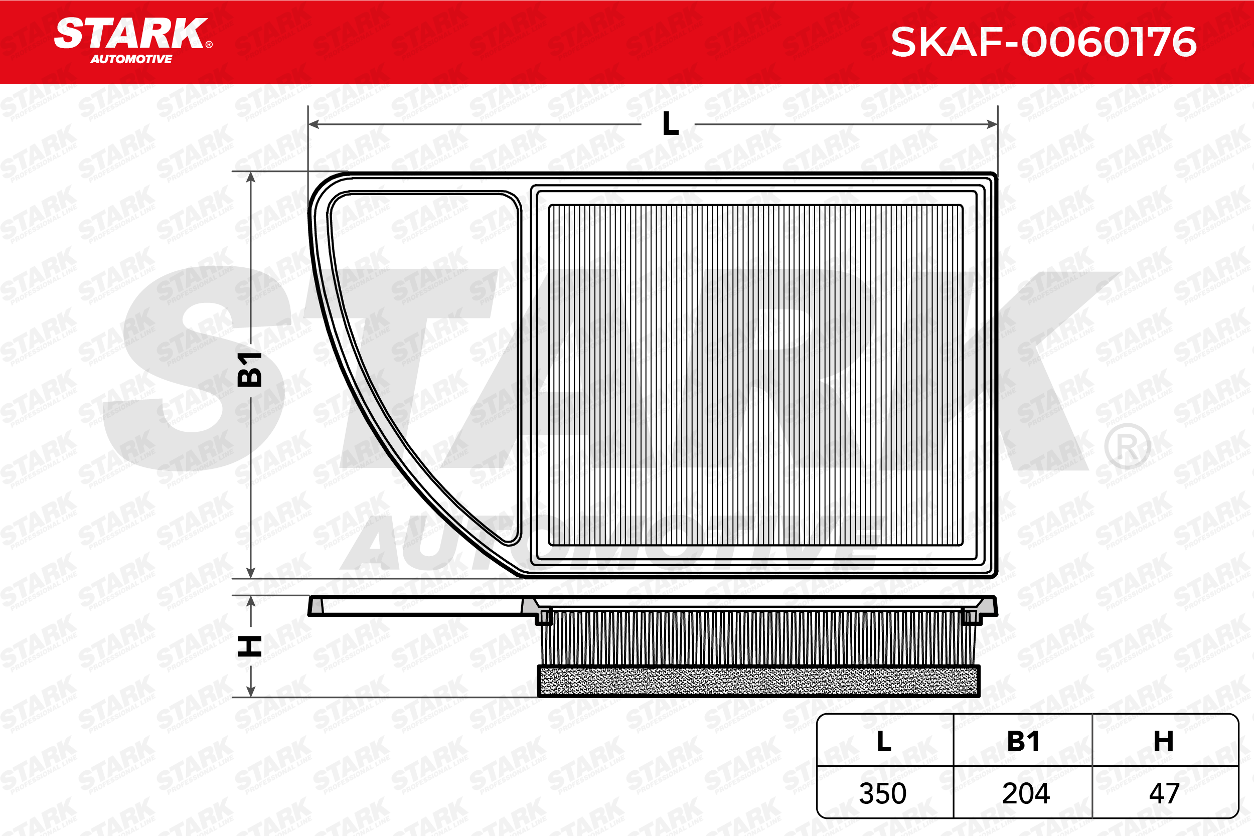 Zracni filter SKAF-0060176 STARK - samo novi deli