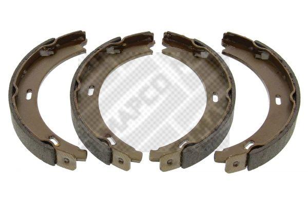 MERCEDES-BENZ CLC 2011 Bremsbackensatz für Trommelbremse - Original MAPCO 8611 Breite: 20mm