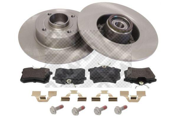 Acheter Plaquette et disque de freins Épaisseur du disque de frein: 16,5, 8mm MAPCO 47141 à tout moment