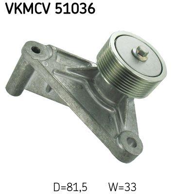 Poulie renvoi / transmission, courroie trapézoïdale à nervures SKF VKMCV 51036 : achetez à prix raisonnables
