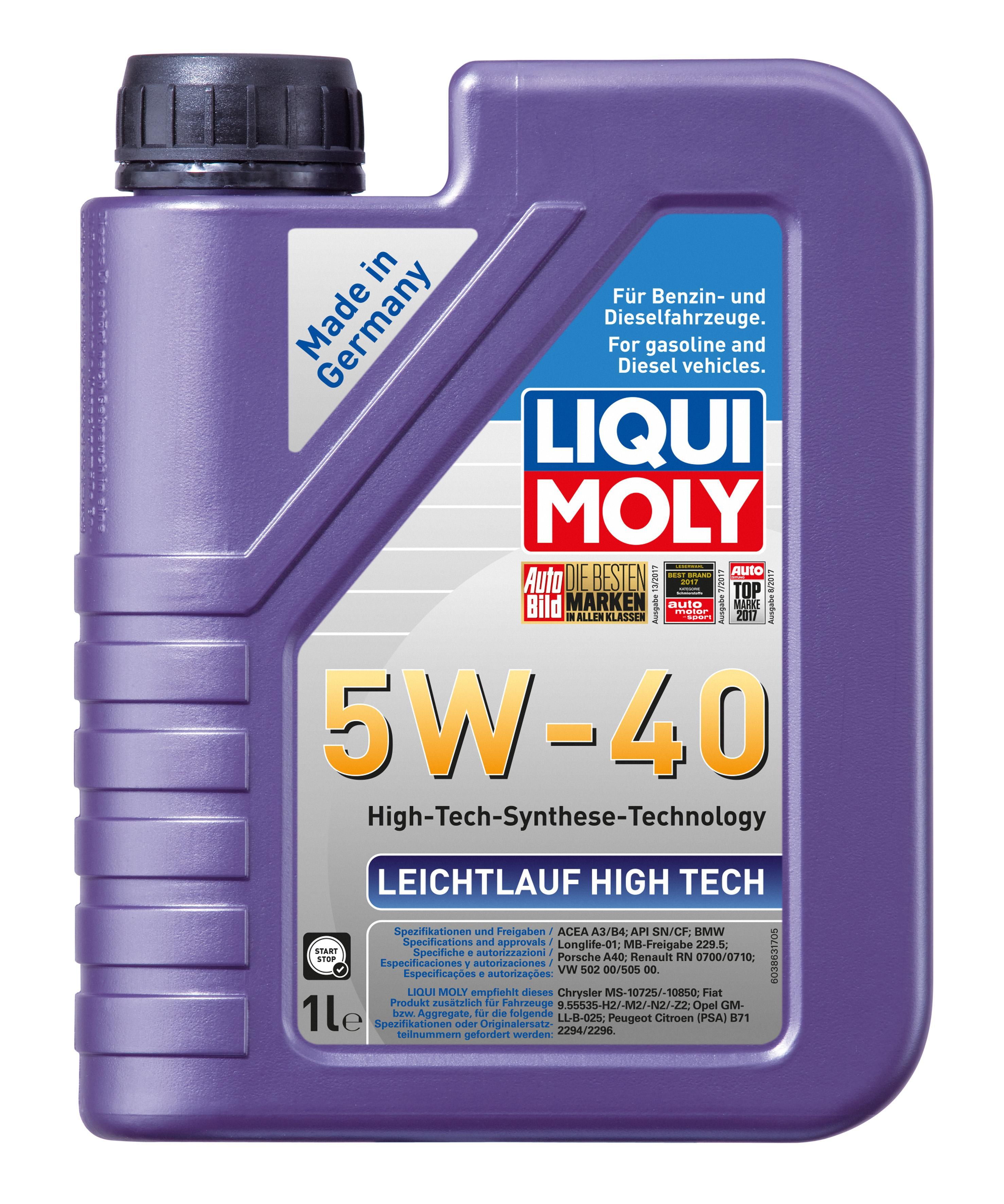 2327 LIQUI MOLY Motoröl Bewertung