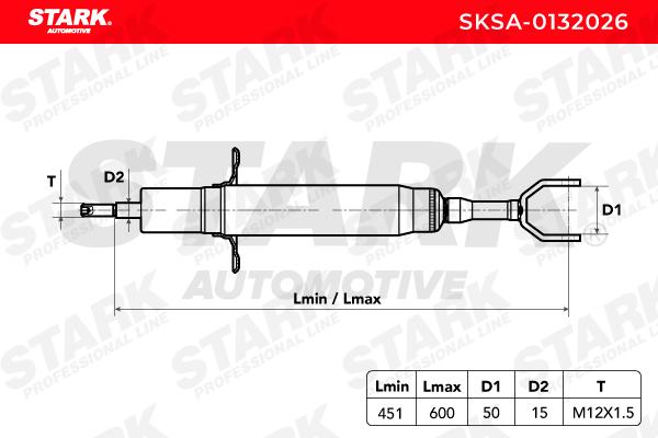 STARK | Амортисьор SKSA-0132026