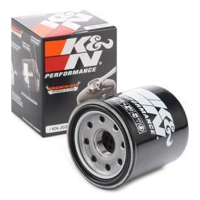 Pirkti moto K&N Filters priveržiamas filtras Ø: 66mm Alyvos filtras KN-303 nebrangu