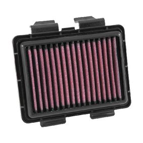 Moto K&N Filters Long-life Filter Length: 338mm, Width: 237mm, Height: 38mm Air Filter HA-2513 cheap
