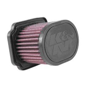 Moto K&N Filters Langzeitfilter Länge: 129mm, Breite: 97mm, Höhe: 85mm Luftfilter YA-6814 günstig