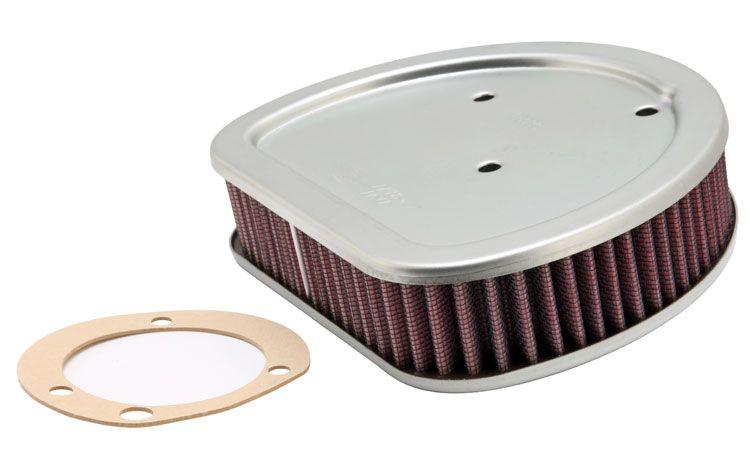 Moto K&N Filters filtr o podwyższonej trwałości Długość: 187[mm], Szerokość: 146[mm], Wys.: 41[mm] Filtr powietrza HD-1499 kupić niedrogo
