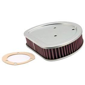 Ostaa moottoripyörän K&N Filters Pitkäikäinen suodatin Pituus: 187mm, Leveys: 146mm, Korkeus: 41mm Ilmansuodatin HD-1499 edullisesti