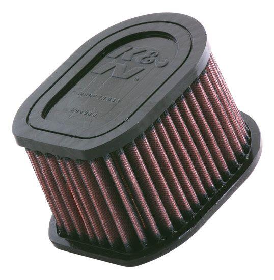 Comprar moto K&N Filters Filto de larga duración Long.: 133mm, Long.: 133mm, Ancho: 102mm, Altura: 79mm Filtro de aire KA-1003 a buen precio