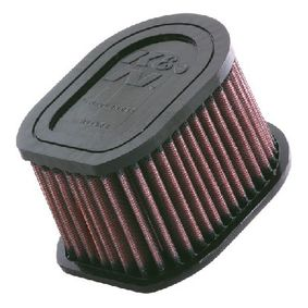 Купете мото K&N Filters фълтър за дълъг пробег дължина: 133мм, ширина: 102мм, височина: 79мм Въздушен филтър KA-1003 евтино