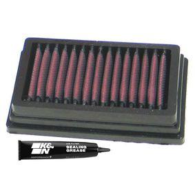 Pirkt moto K&N Filters Ilgtermiņa filtrs Garums: 149mm, Platums: 89mm, Augstums: 32mm Gaisa filtrs BM-1204 lēti