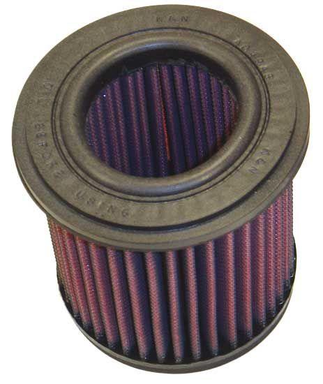 Moto K&N Filters Långtidsfilter L: 114mm, L: 114mm, B: 64mm, H: 124mm Luftfilter YA-7585 köp lågt pris