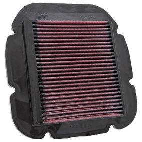 Motas K&N Filters Filtro de longa duração Comprimento: 237mm, Largura: 243mm, Altura: 22mm Filtro de ar SU-1002 comprar económica