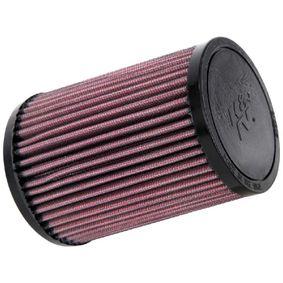 Motas K&N Filters Filtro de longa duração Comprimento: 97mm, Largura: 89mm, Altura: 138mm Filtro de ar HA-6098 comprar económica