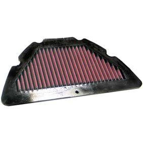 Moto K&N Filters Langzeitfilter Länge: 330mm, Breite: 170mm, Höhe: 22mm Luftfilter YA-1004 günstig
