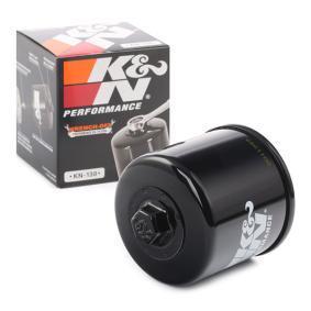 Achat de Moto K&N Filters Filtre vissé Ø: 71mm Filtre à huile KN-138 pas chères
