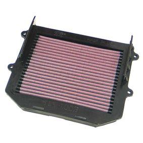 Motas K&N Filters Filtro de longa duração Comprimento: 217mm, Largura: 216mm, Altura: 44mm Filtro de ar HA-1003 comprar económica