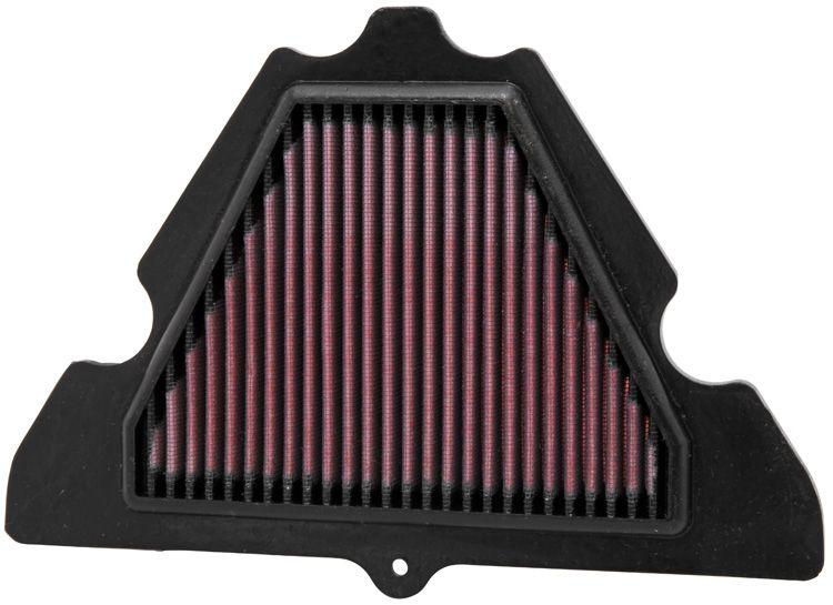 Купете мото K&N Filters фълтър за дълъг пробег дължина: 275мм, дължина: 275мм, ширина: 183мм, височина: 22мм Въздушен филтър KA-1010 евтино