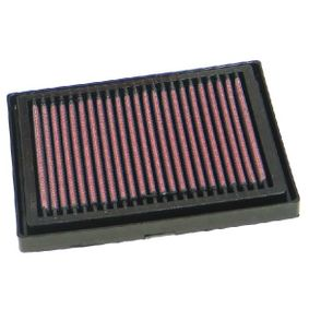 Comprar moto K&N Filters Filto de larga duración Long.: 187mm, Ancho: 132mm, Altura: 21mm Filtro de aire AL-1004 a buen precio
