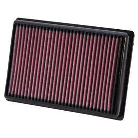 Купете мото K&N Filters фълтър за дълъг пробег дължина: 232мм, ширина: 156мм, височина: 29мм Въздушен филтър BM-1010 евтино