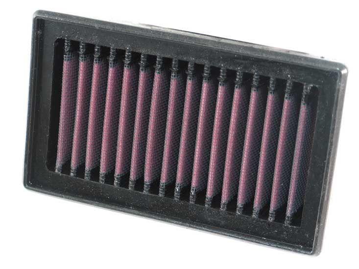 Moto K&N Filters Långtidsfilter L: 152mm, L: 152mm, B: 92mm, H: 37mm Luftfilter BM-8006 köp lågt pris