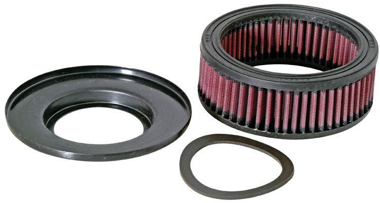 Moto K&N Filters filtr o podwyższonej trwałości Długość: 143[mm], Szerokość: 114[mm], Wys.: 51[mm] Filtr powietrza KA-1596 kupić niedrogo