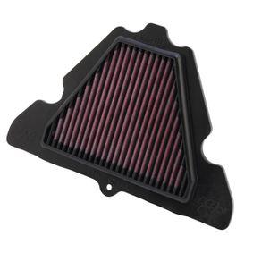 Achat de Moto K&N Filters Filtres de longue durée Longueur: 273mm, Largeur: 182mm, Hauteur: 22mm Filtre à air KA-1111 pas chères