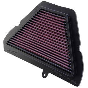Motas K&N Filters Filtro de longa duração Comprimento: 273mm, Largura: 197mm, Altura: 19mm Filtro de ar TB-1005 comprar económica