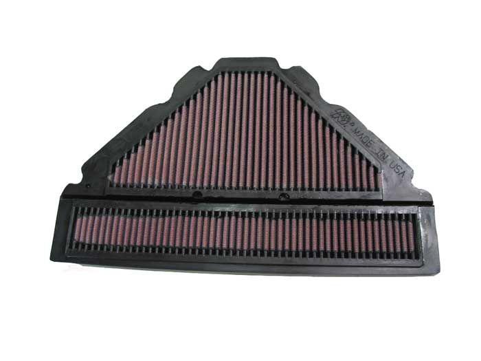 Køb moto K&N Filters Langtidsfilter Länge: 328mm, Länge: 328mm, Breite: 208mm, Höhe: 17mm Luftfilter YA-6096 billige