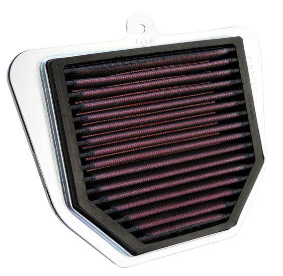 Achat de Moto K&N Filters Filtres de longue durée Longueur: 194mm, Largeur: 154mm, Hauteur: 32mm Filtre à air YA-1006 pas chères