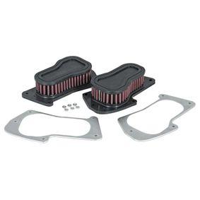 Купете мото K&N Filters фълтър за дълъг пробег дължина: 216мм, ширина: 127мм, височина: 51мм Въздушен филтър SU-1806 евтино