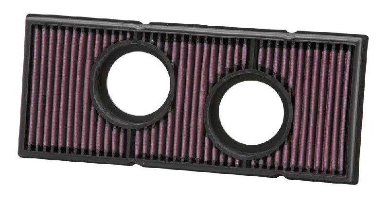 Moto K&N Filters Langzeitfilter Länge: 367mm, Breite: 157mm, Höhe: 38mm Luftfilter KT-9907 günstig