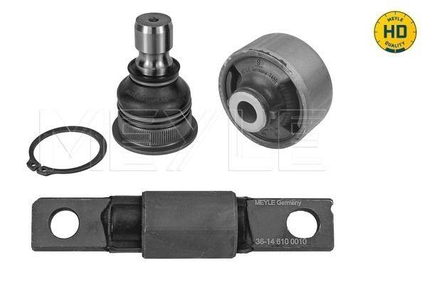 MCR0025HD MEYLE -HD Quality Vorderachse links, Vorderachse rechts Reparatursatz, Querlenker 36-14 653 0000/HD günstig kaufen