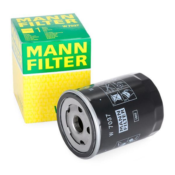 W 7037 Wechselfilter MANN-FILTER - Markenprodukte billig