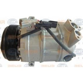 8FK 351 322-661 HELLA PAG 46, Kältemittel: R 134a, mit Dichtring Riemenscheiben-Ø: 119mm Kompressor, Klimaanlage 8FK 351 322-661 günstig kaufen