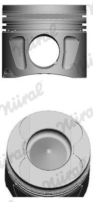 NÜRAL: Original Motor Kolben 87-427500-00 ()