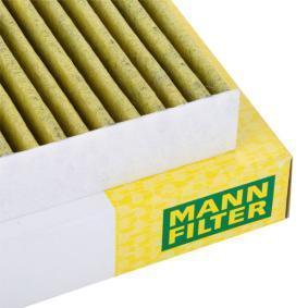 FP2882 Filter, Innenraumluft MANN-FILTER FP 2882 - Große Auswahl - stark reduziert