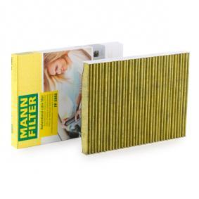 FP 2882 Filter, Innenraumluft MANN-FILTER - Markenprodukte billig