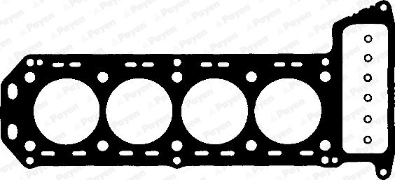 Car spare parts ALFA ROMEO BERLINA 1974: Gasket, cylinder head PAYEN BH850 at a discount — buy now!