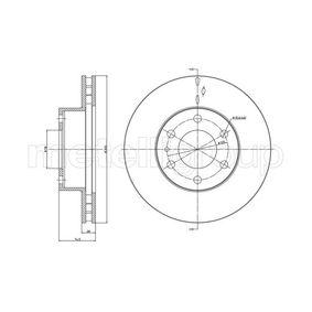23-0913C METELLI ventilerad, lackerad Ø: 300,0mm, Hålant.: 6, Bromsskivetjocklek: 28,0mm Bromsskiva 23-0913C köp lågt pris
