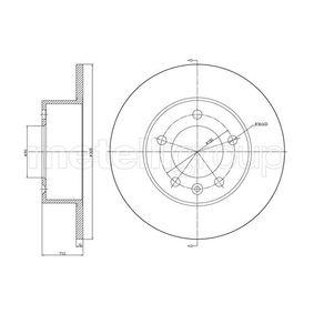 Disque de frein 1 Unités ABE c4r024abe