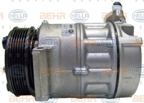 8FK 351 003-261 HELLA PAG 46, Kältemittel: R 134a, HELLA BLACK MAGIC Riemenscheiben-Ø: 110mm Klimakompressor 8FK 351 003-261 günstig kaufen