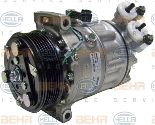 8FK351003-261 Kältemittelkompressor HELLA Erfahrung