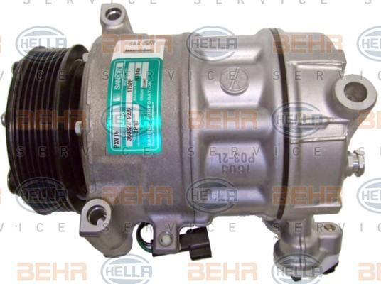 8FK 351 003-261 Klimakompressor HELLA in Original Qualität