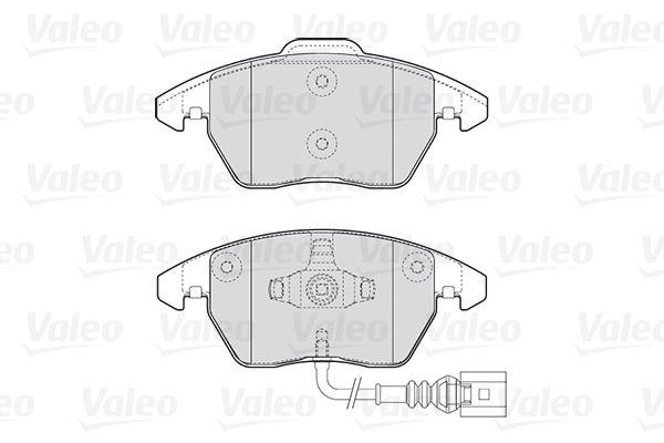 301635 Bremssteine VALEO in Original Qualität