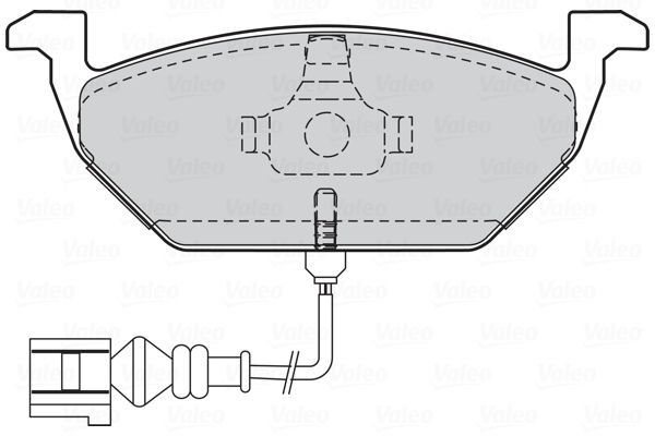 301408 Disk brake pads VALEO - Cheap brand products