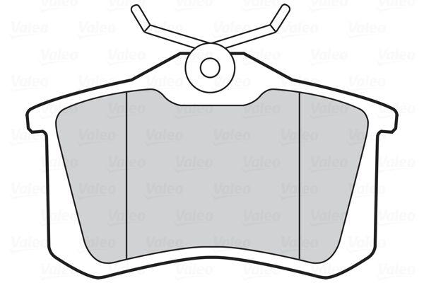 301463 Bremsbelagsatz VALEO - Markenprodukte billig