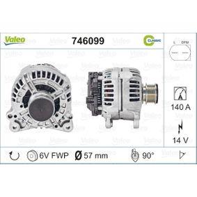 Generator 746099 von VALEO