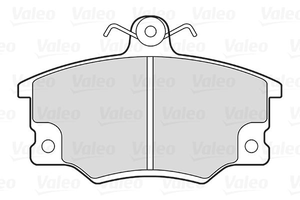 Alfa Romeo 155 1997 Disk pads VALEO 301219: FIRST, Front Axle, without anti-squeak plate